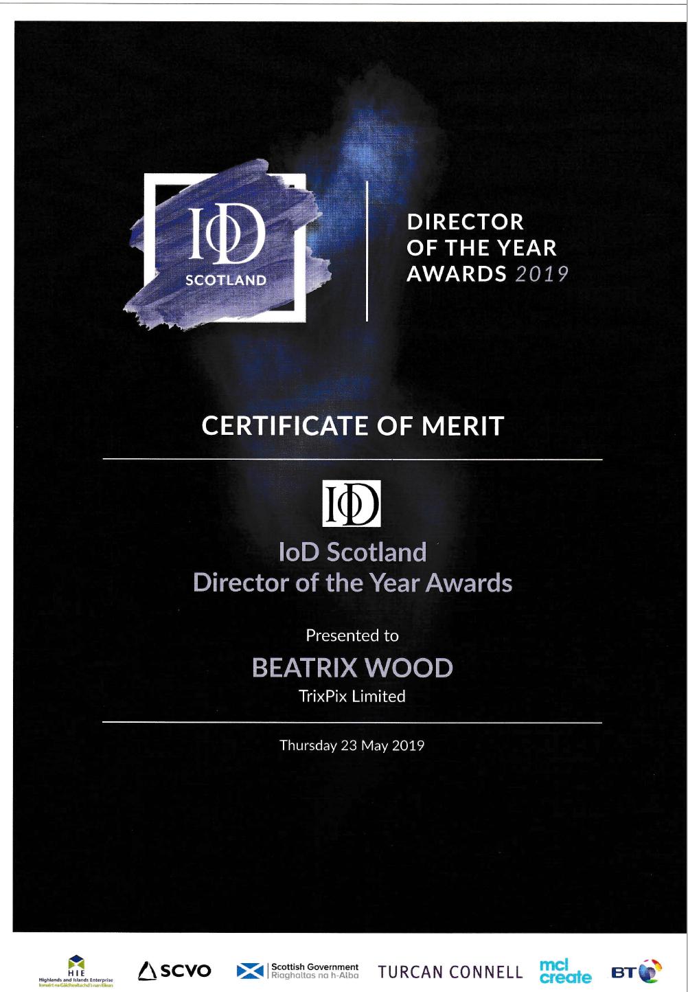 IOD Award