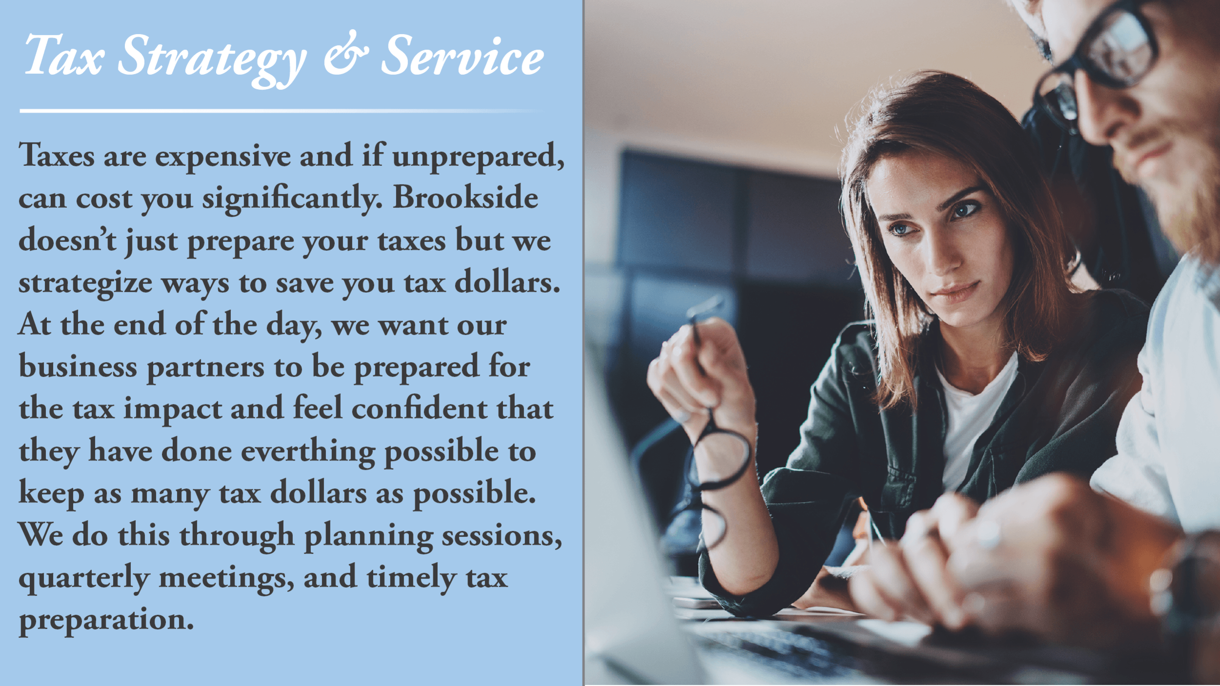 Tax Strategy and Services