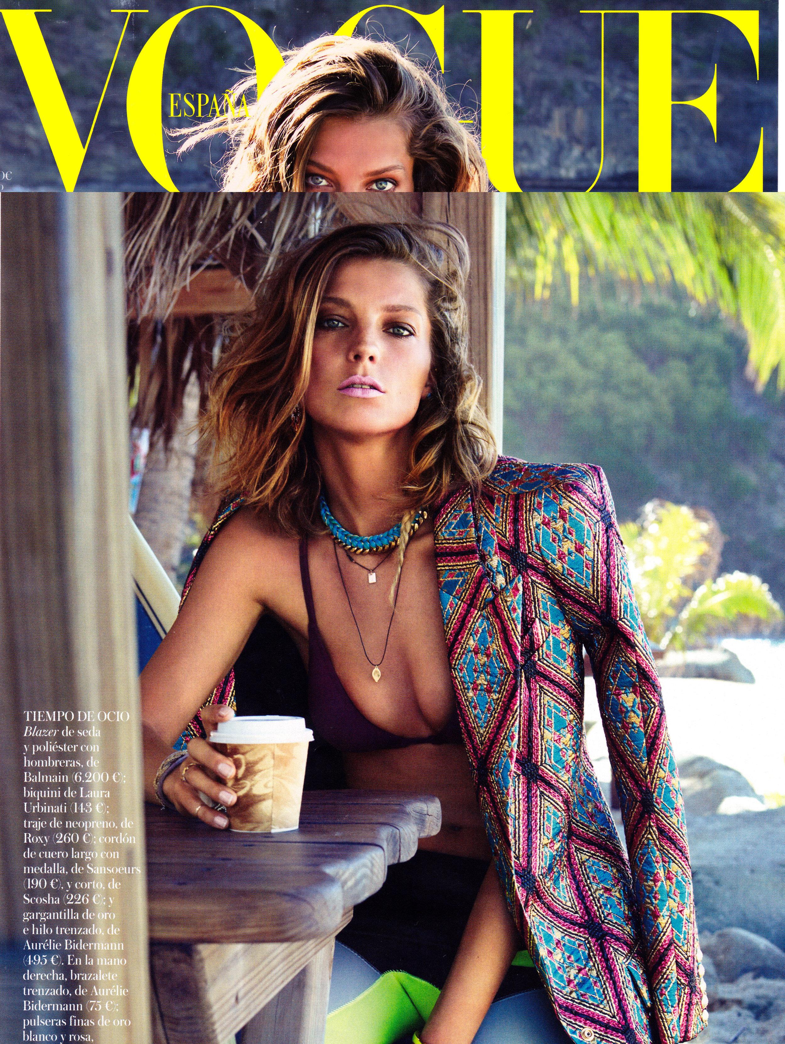 Daria Werbowy - Vogue Spain 2013