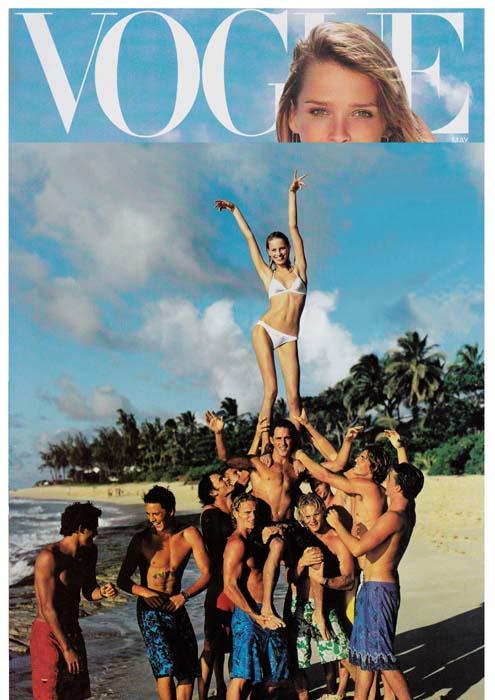 Karolina Kurkova - Vogue 2001