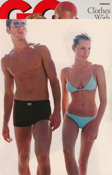 Rebecca Romijn - GQ 1997