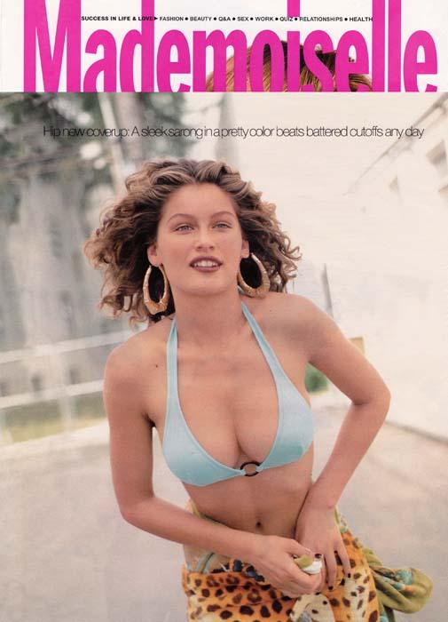 Laetitia Casta 1997 - Mademoiselle