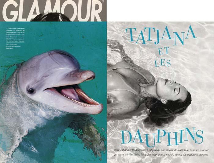 Tatjana Pavitz 1993 - Glamour