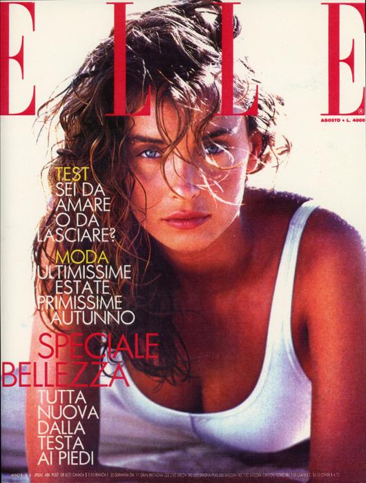 Olatz Schnabel 1988 - ELLE