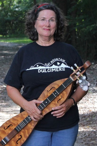 Nancy Galambush - mountain dulcimer instructor, Bluegrass & Adult CampNancy Galambush began playing the mountain dulcimer in the 1990's when her husband, the late JC Bradshaw, asked her to learn to play an instrument he had built.Nancy has taken classes from some of the best-known dulcimer instructors in the country through Western Carolina University's Dulcimer program. She has taught at dulcimer workshops across North Carolina, in Virginia and Georgia and in Cordova, Alaska, in addition to private students.Nancy has a special interest in the history of the mountain dulcimer and enjoys sharing that history during her concerts and through East Carolina University's Lifelong Learning Program. Nancy also plays cello in the Pitt Community College Symphony Orchestra and lives in Snow Hill, North Carolina.