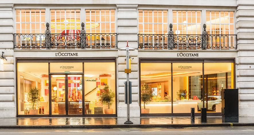 Regent Street flagship store . London