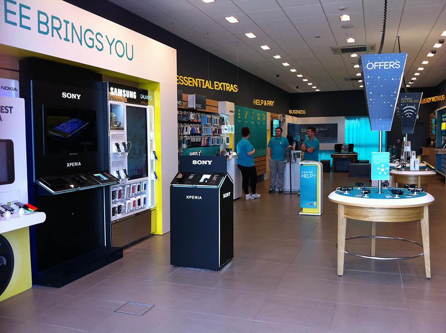 branded counter . mobile operators . worldwide