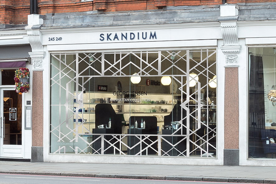 Manhattan collection . Skandium . Brompton Road, London