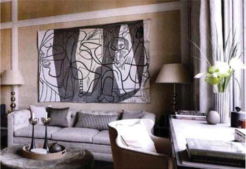Jules Pansu . tapestry