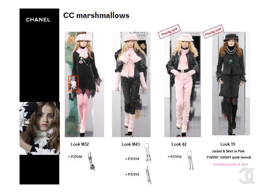 Chanel . window display guidelines .  worldwide
