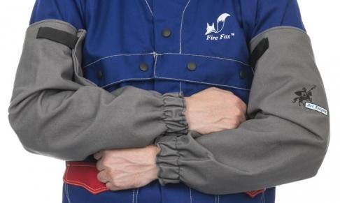Heavy duty FR cotton sleeves
