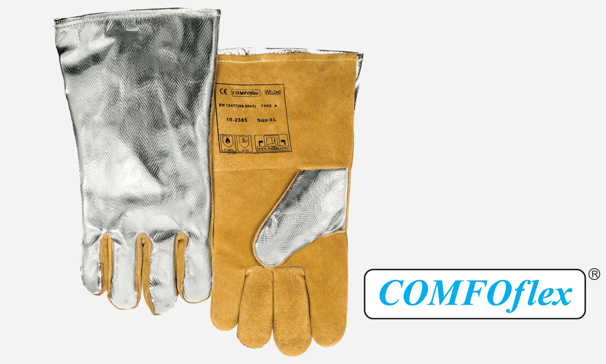 Rayon Cowhide Premium Stick Welding Glove