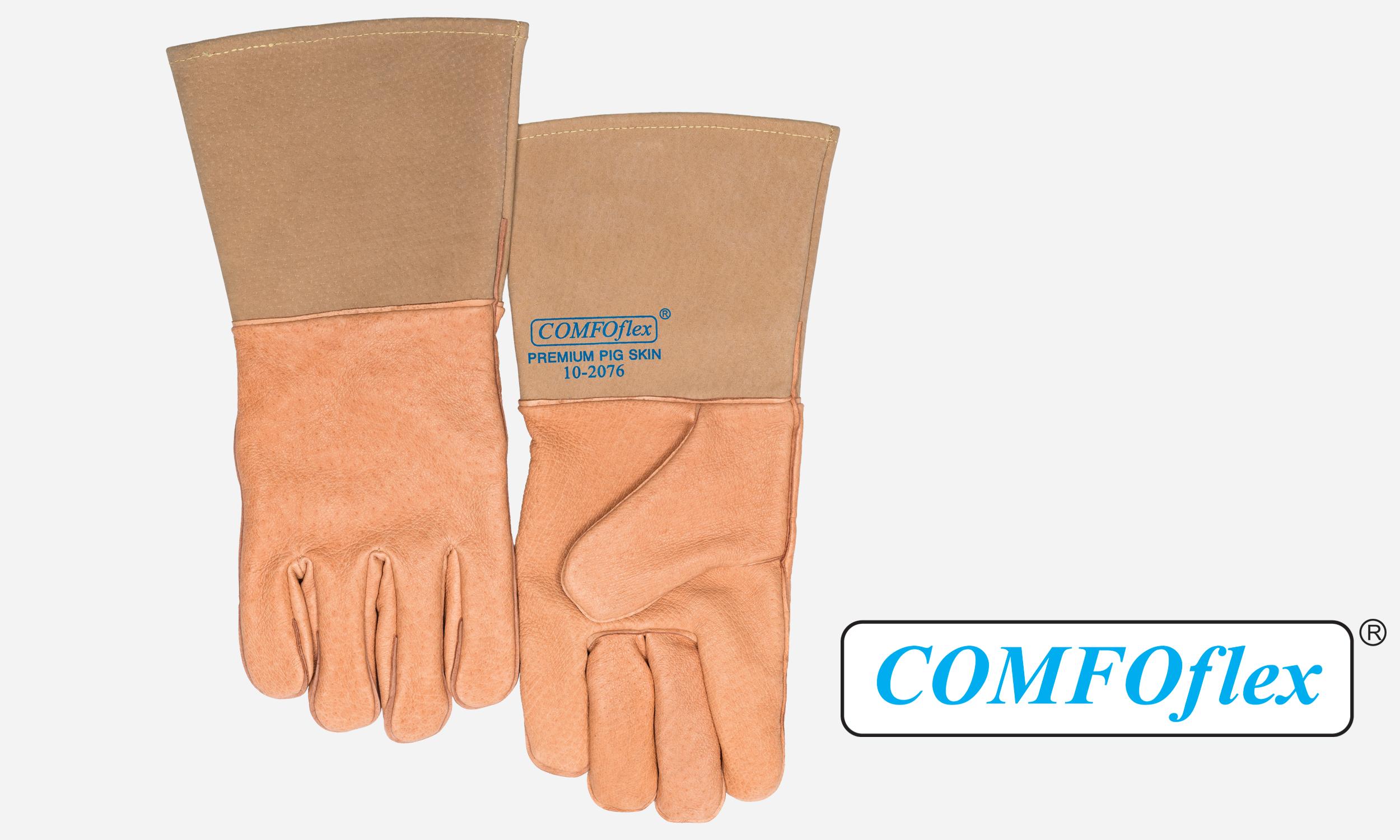 Pigskin premium welding glove