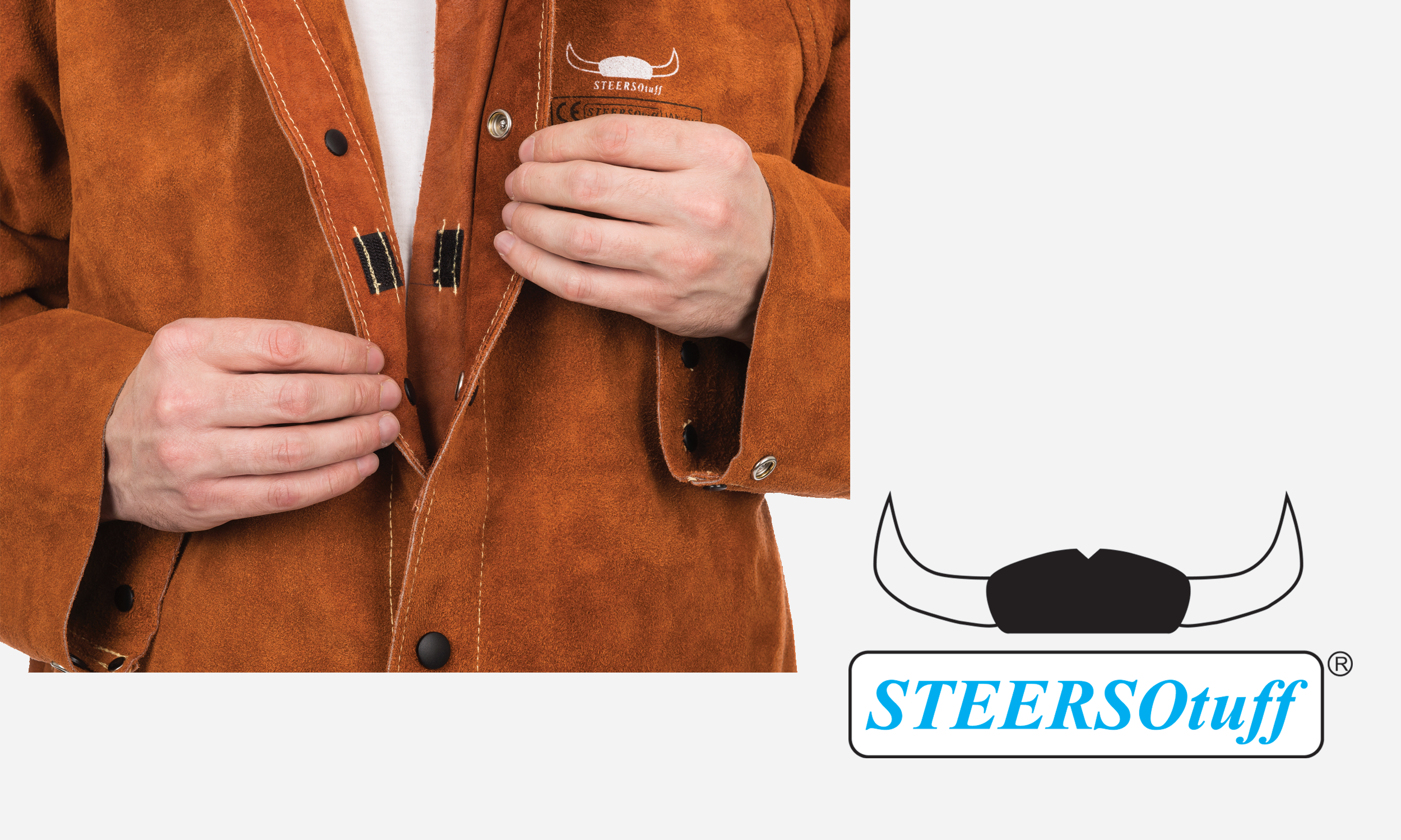 44-7300 STEERSOtuff Leather Jacket Spatter Guard.png