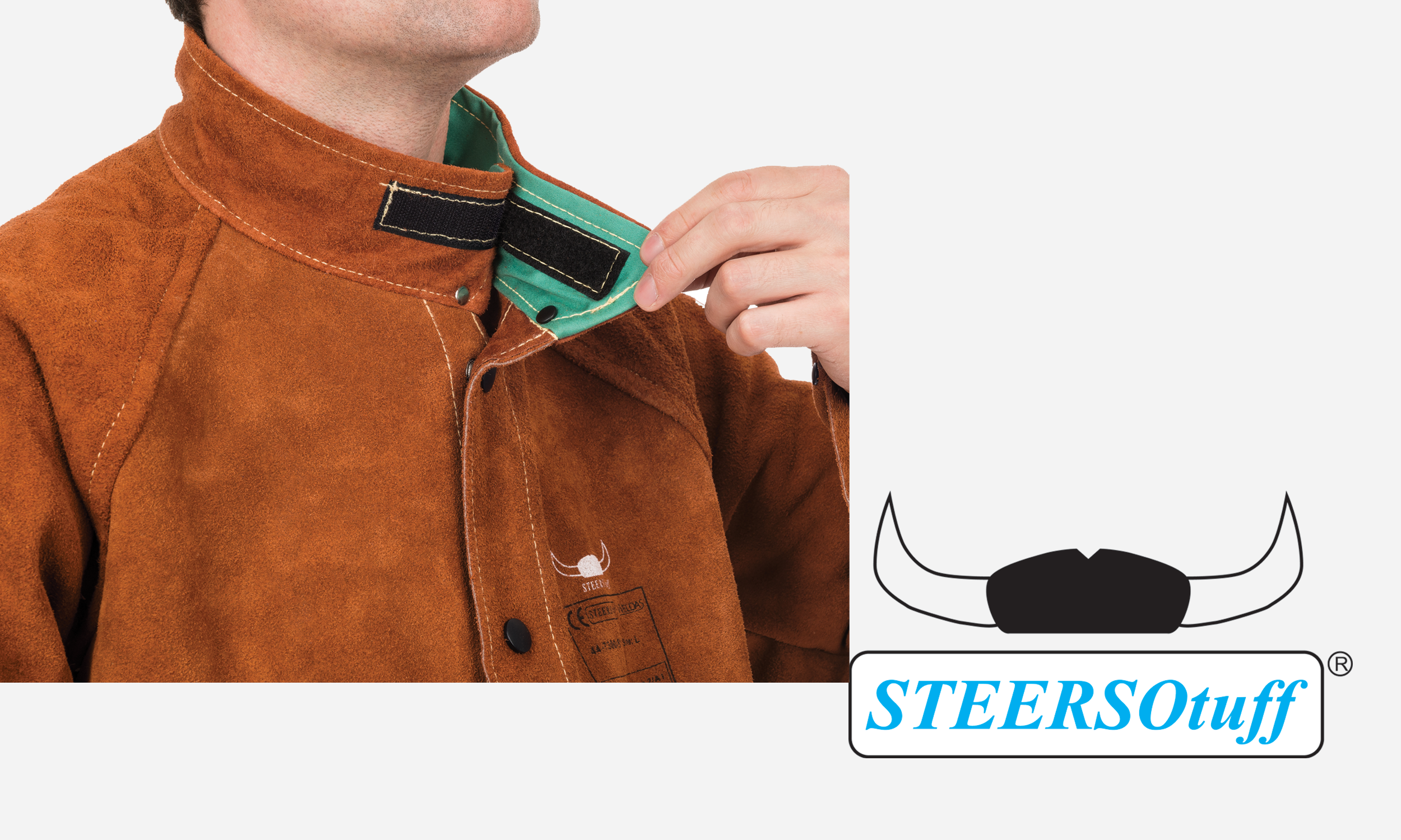 44-7800 STEERSOtuff Cape Sleeves Roll-up collar.png