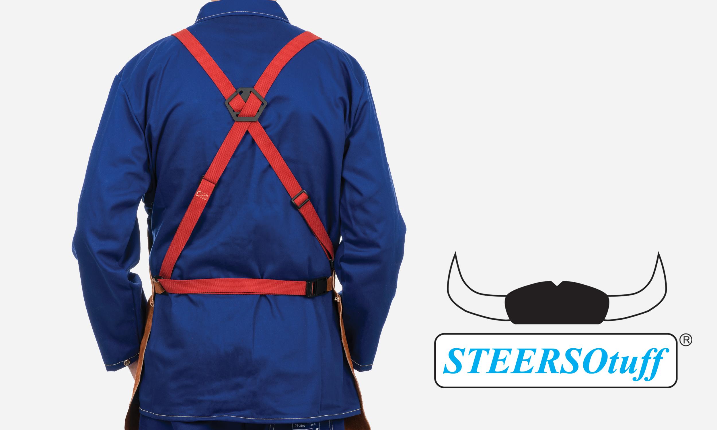 44-7136, 44-7142, 44-7148 Premium Leather Bib Apron Back Side View.png