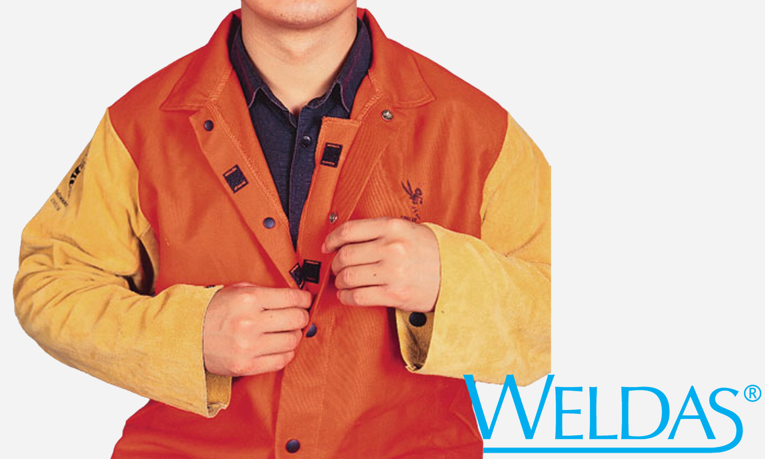 33-6744 FR Leather Sleeve Jacket Interior Spatter Guard.png
