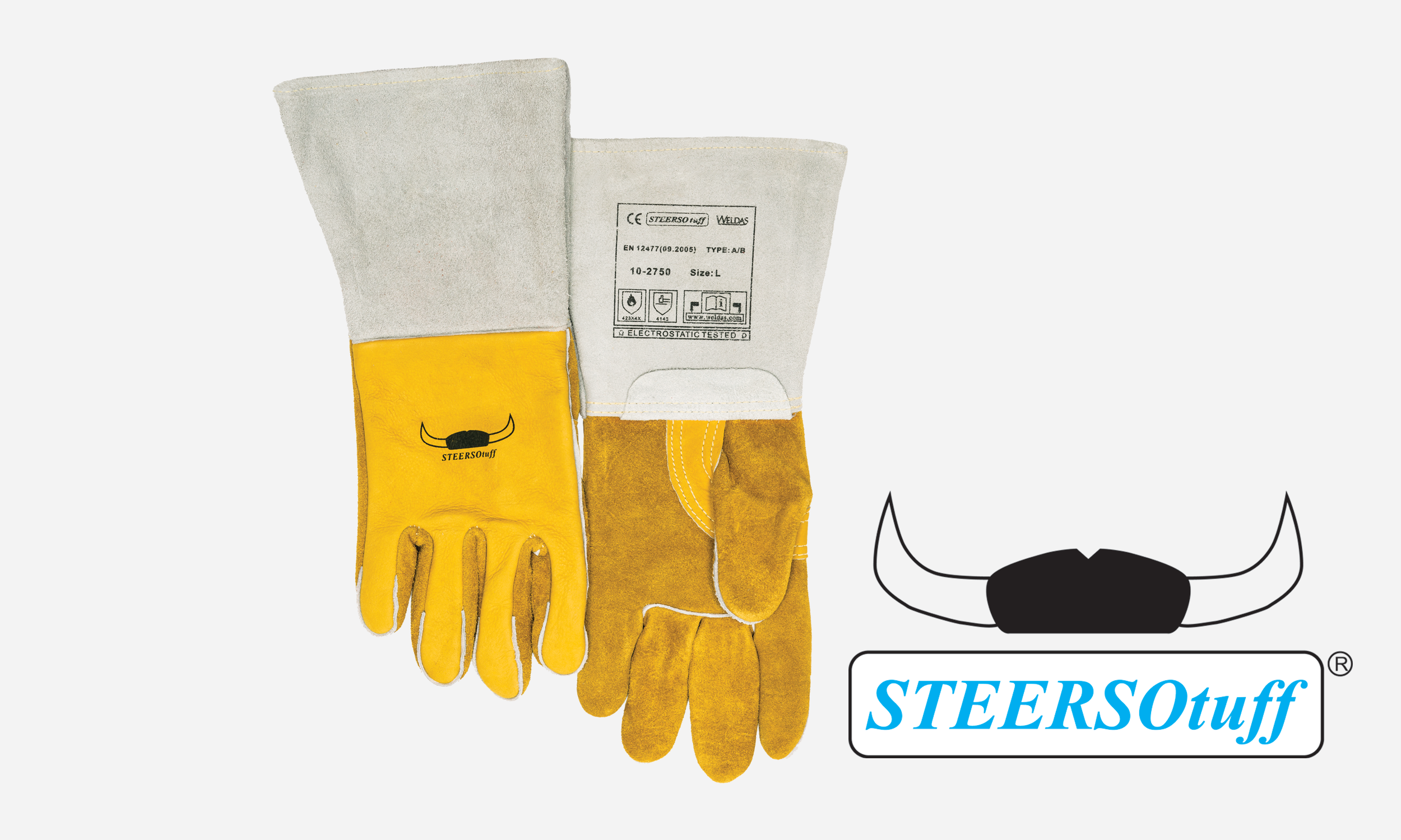 Cowhide Leather Stick Welding Glove