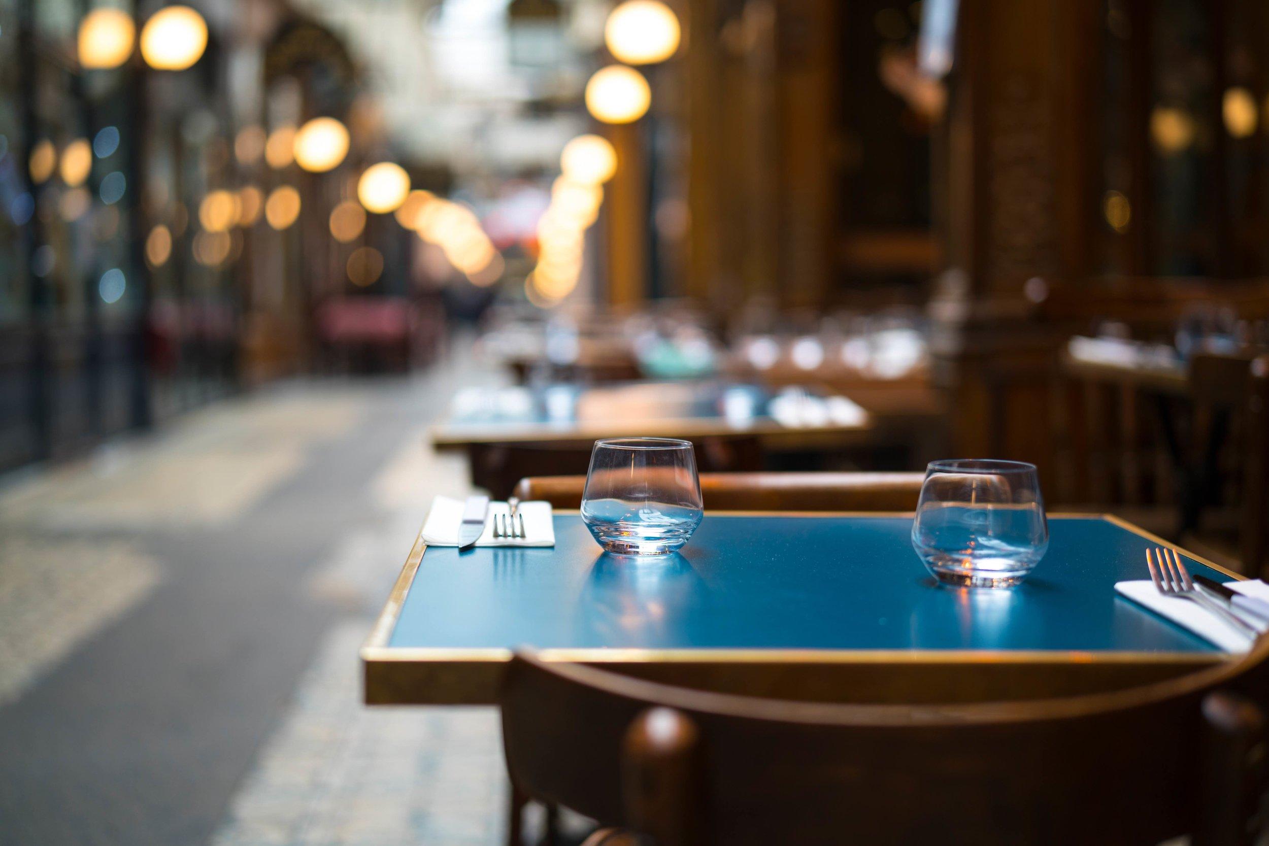 3. The restaurant scene