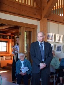 John Hayes receives The Redding Land Trust Leadership Award in Conservation