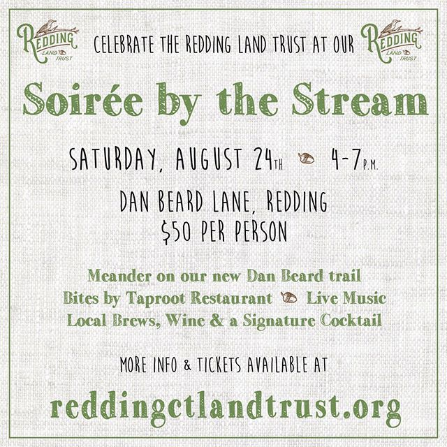 Tickets for our summer party, Soirée by the Stream, are now on sale! Click the link in our bio to purchase.