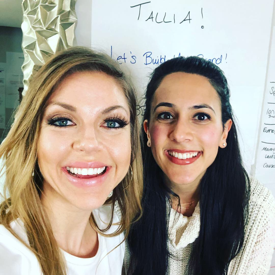 "what my clients are saying - ""Thank you so much for everything!!! You were a dream to work with and I can't wait for all that's in store"" - Tallia Deljou"