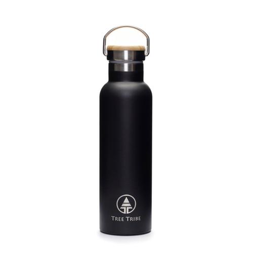 20oz Black Steel Water Bottle