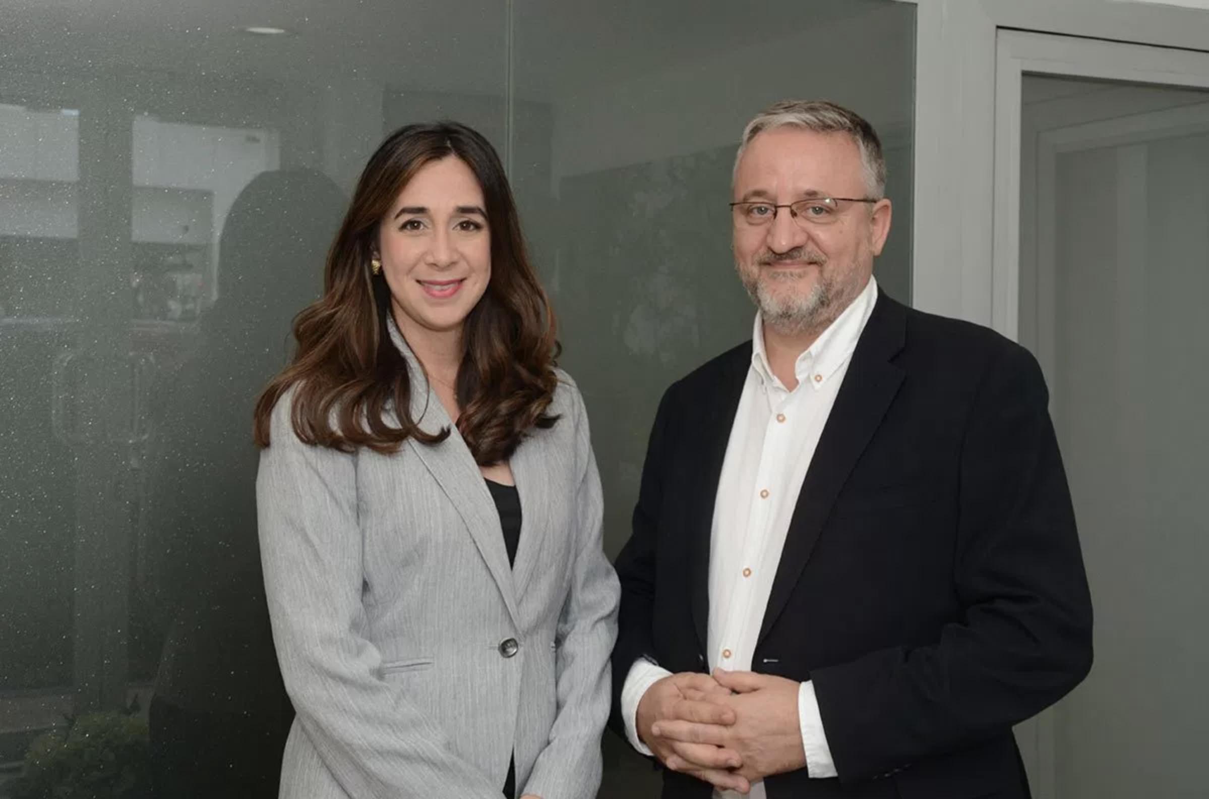 Lisa Morel y Ferran Fisas