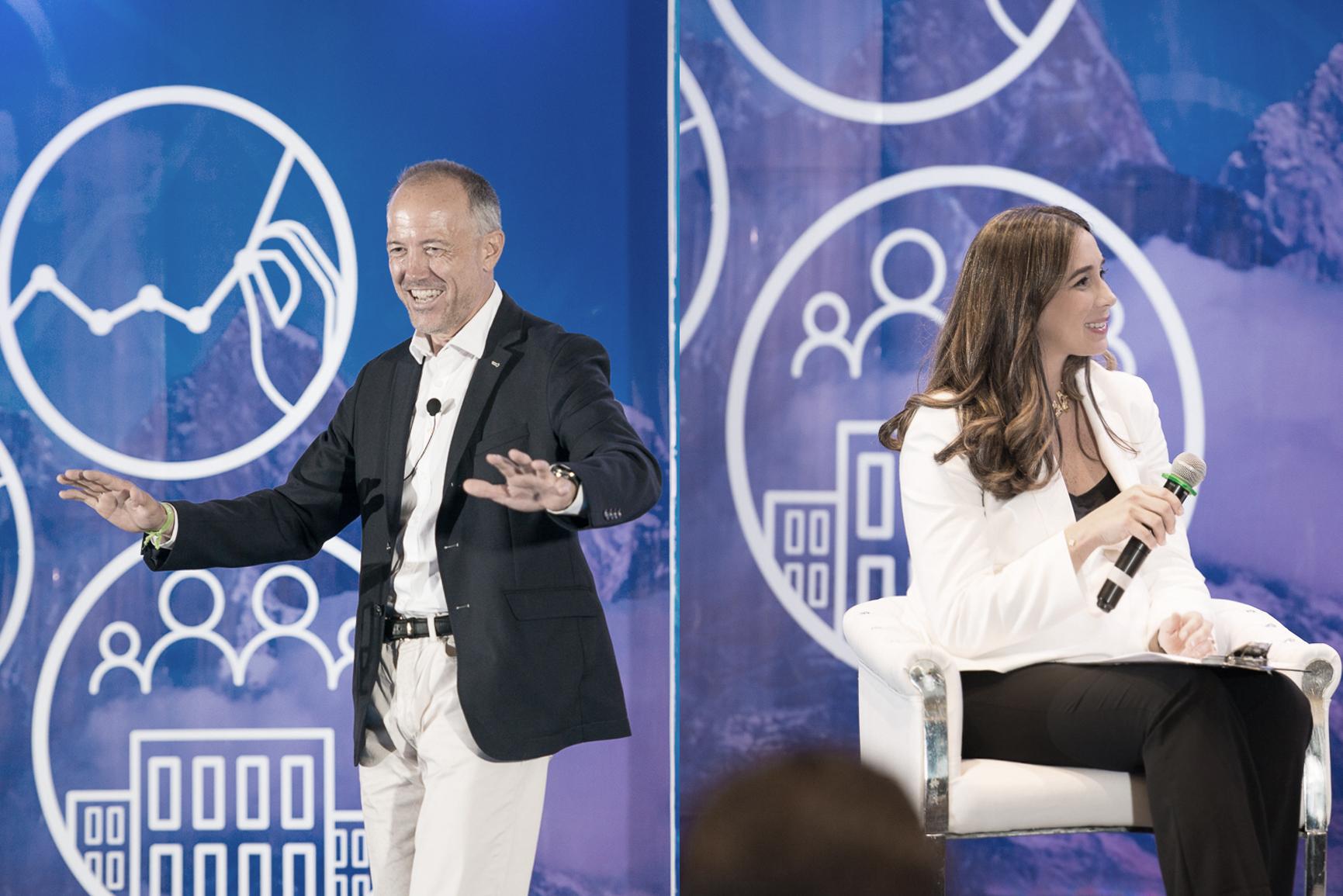 Albert Bosch and Lisa Morel