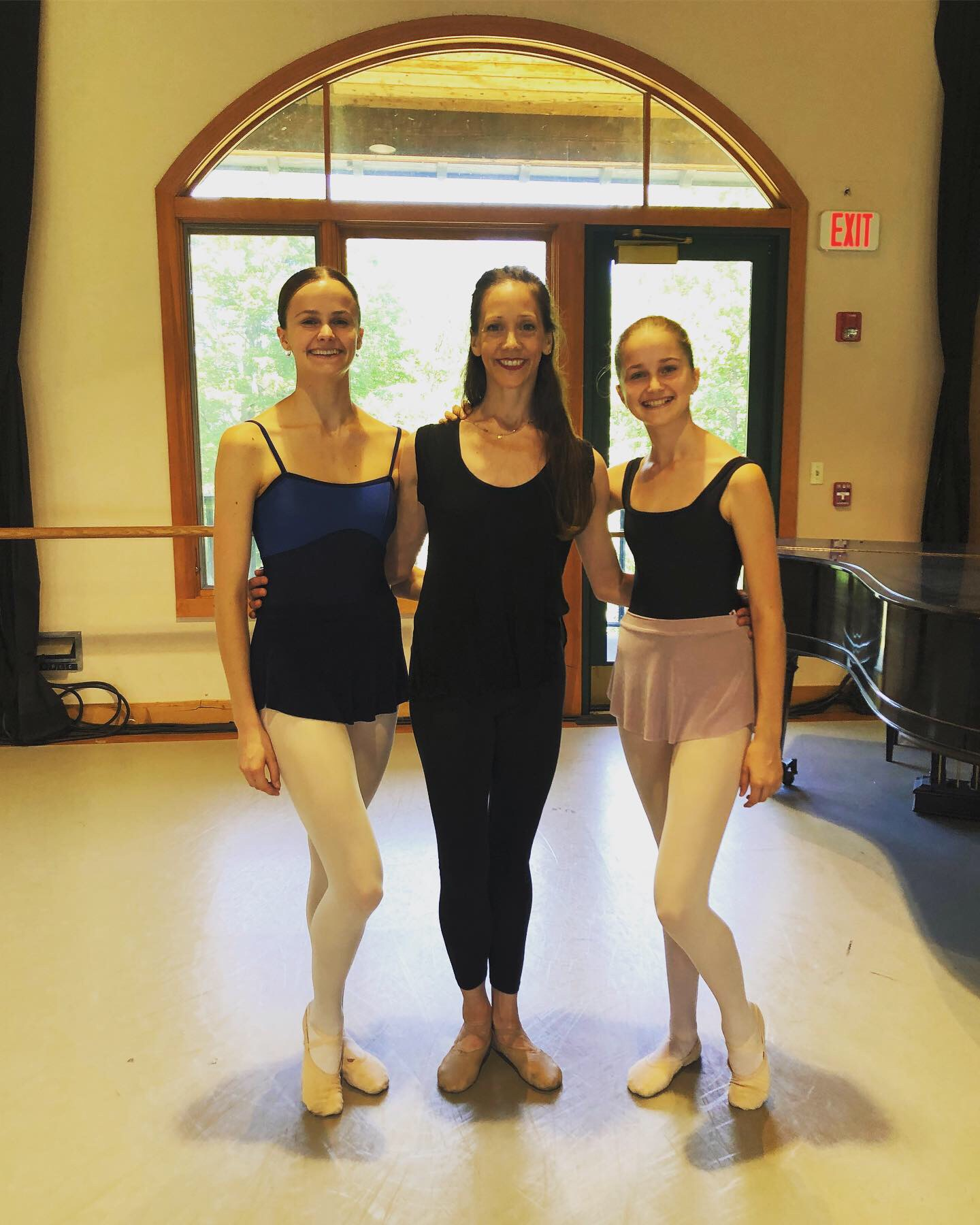 - Photo:Students from Extreme Ballet® Session ll received masterclasses from Maria Kowroski (Principal Dancer, New York City Ballet) and John Meehan (former Principal Dancer, American Ballet Theatre).