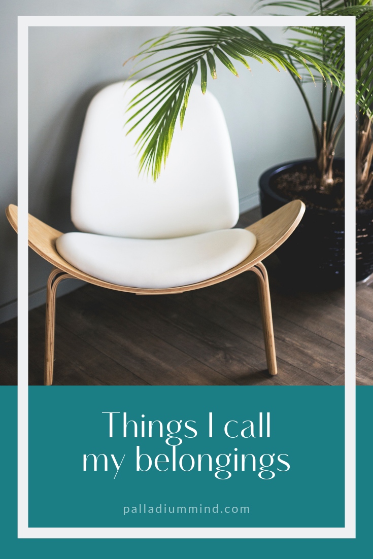 Hypnotherapy-blog-things-i-call-my-belongings