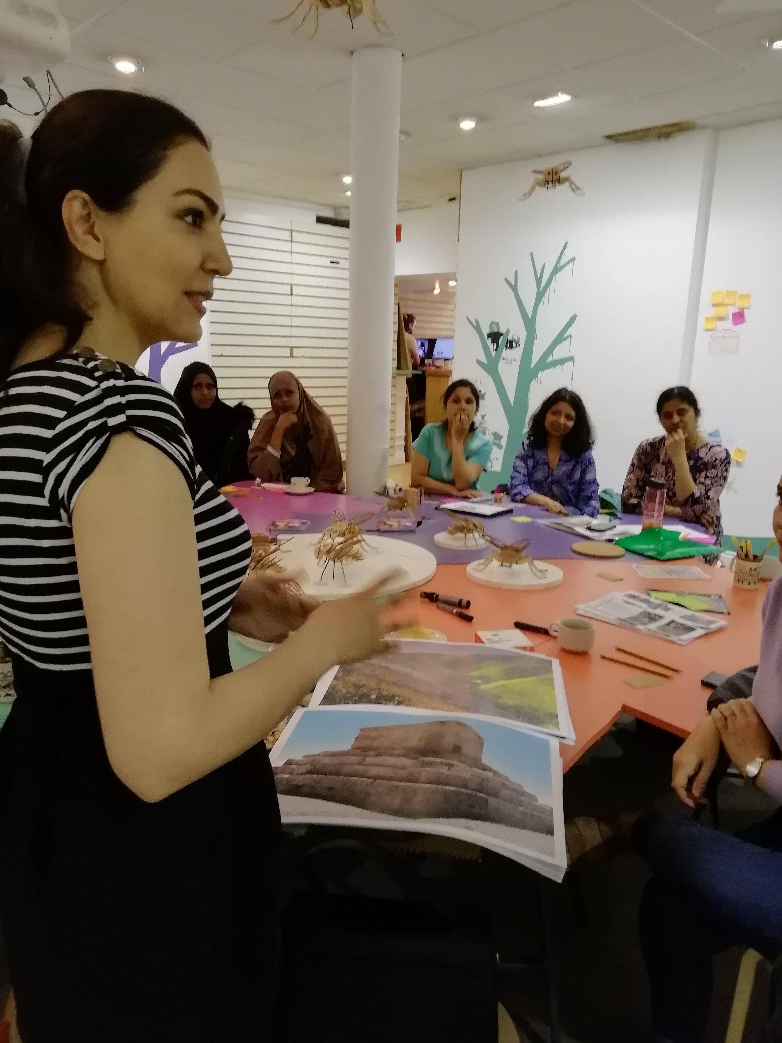 Discussing Persian heritage