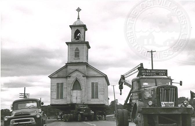 Moving Christ Church, 1959