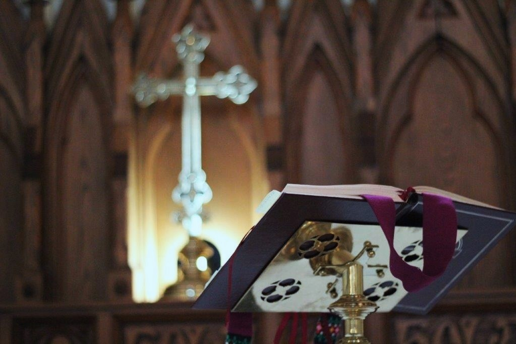 Trinity Church - SUNDAYS8:00 AM Eucharist10:00 AM Eucharist*WEDNESDAYS10:00 AM Eucharist*The 4th Sunday of each month features alternative liturgies from across the worldwide Anglican Communion. Words and images are projected on a screen.