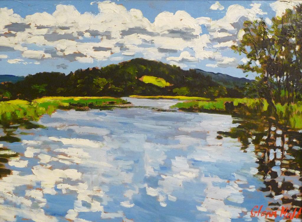 Kennebecasis River near Hampton courtesy of Buckland Merrifield Gallery