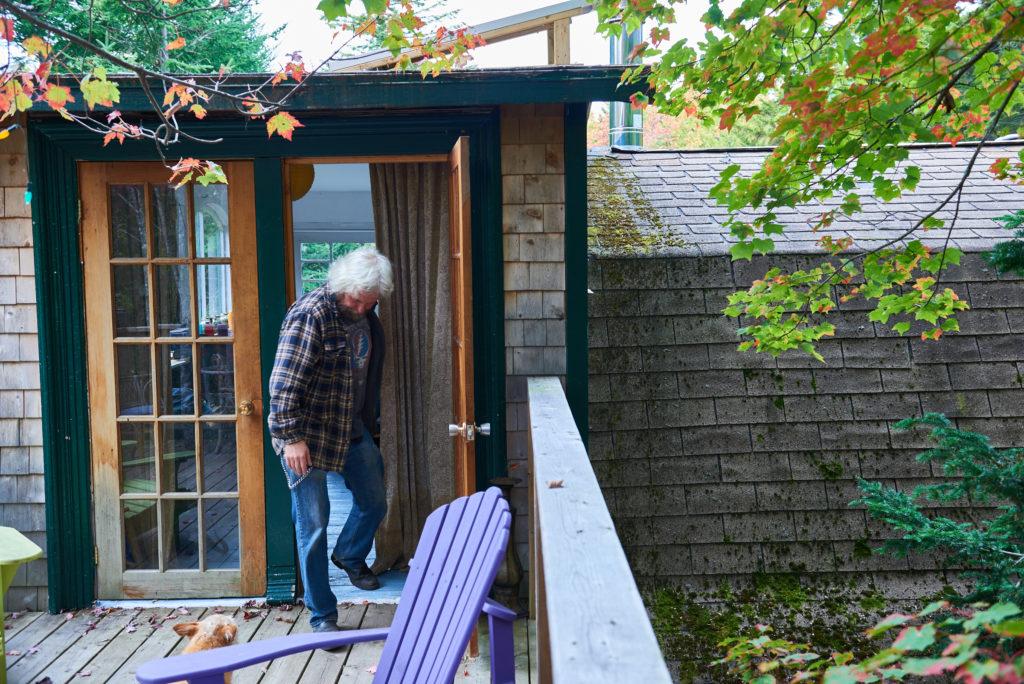 Glenn's cabin - Photo by Jason Nugent