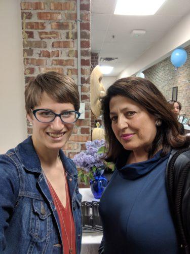 with Nadia Khoury
