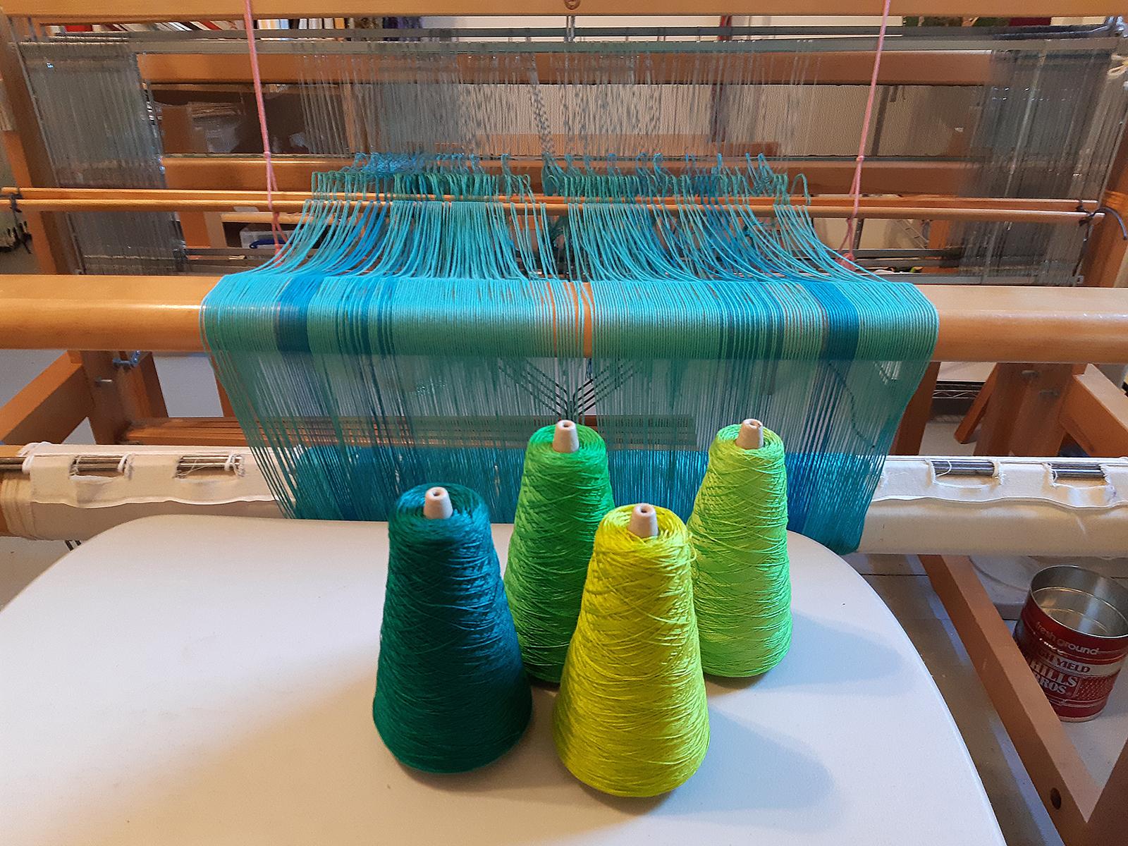 Deborah Payne Weaving Loom