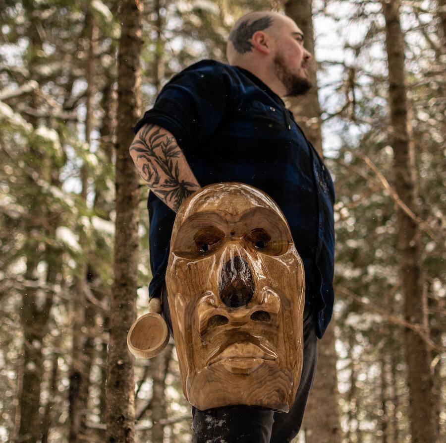 Timothy 'Bjorn' Jones - Woodcarving