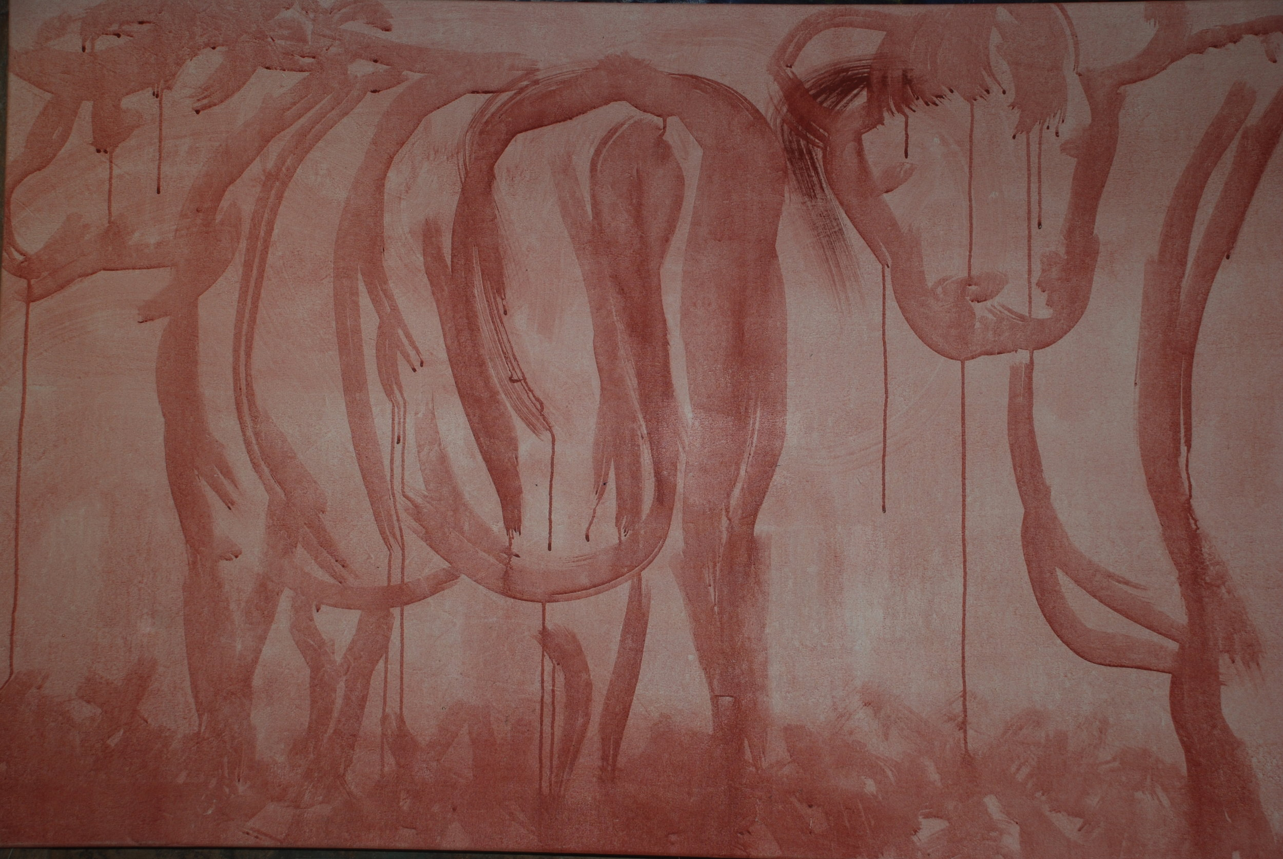 Underpainting, Mother and Victoria.JPG