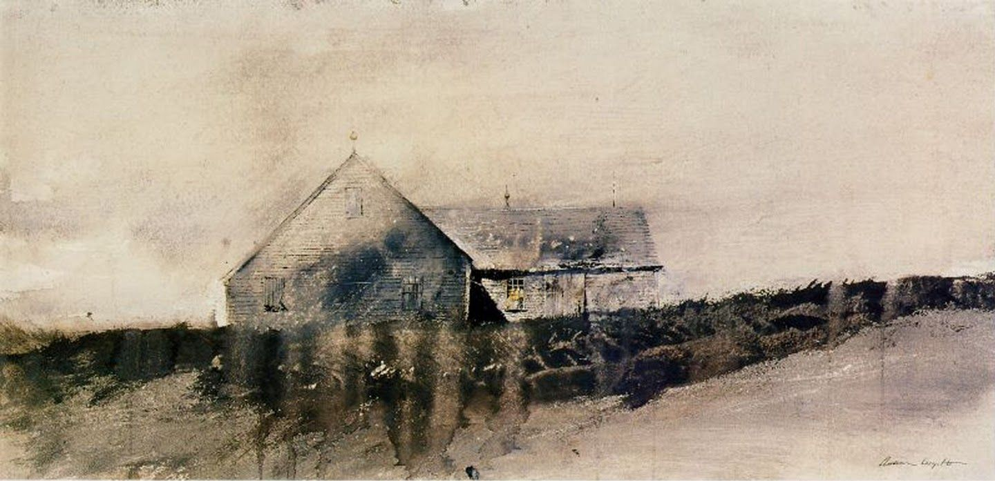 Island House by Andrew Wyeth