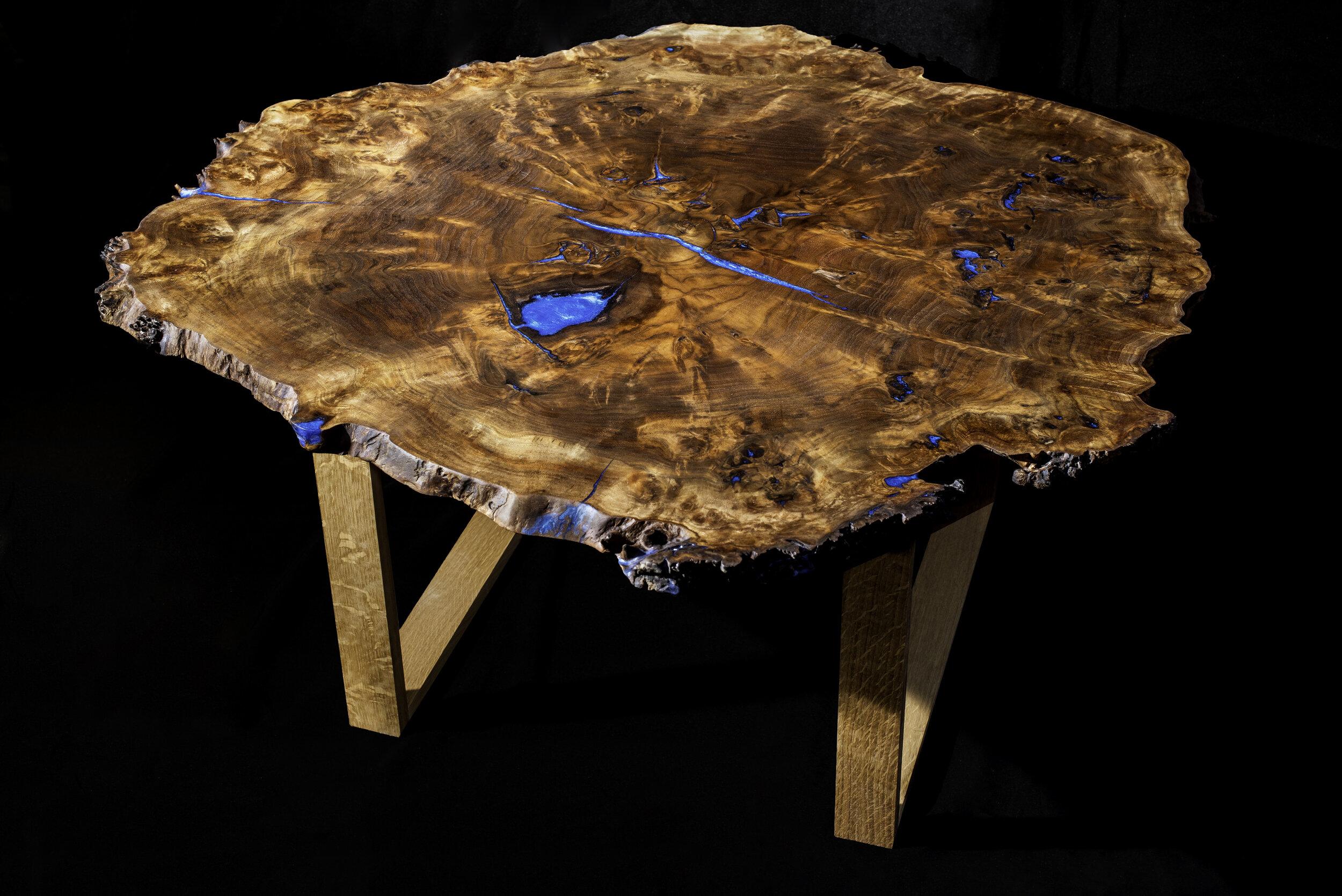 Walnut Coffee Table Table