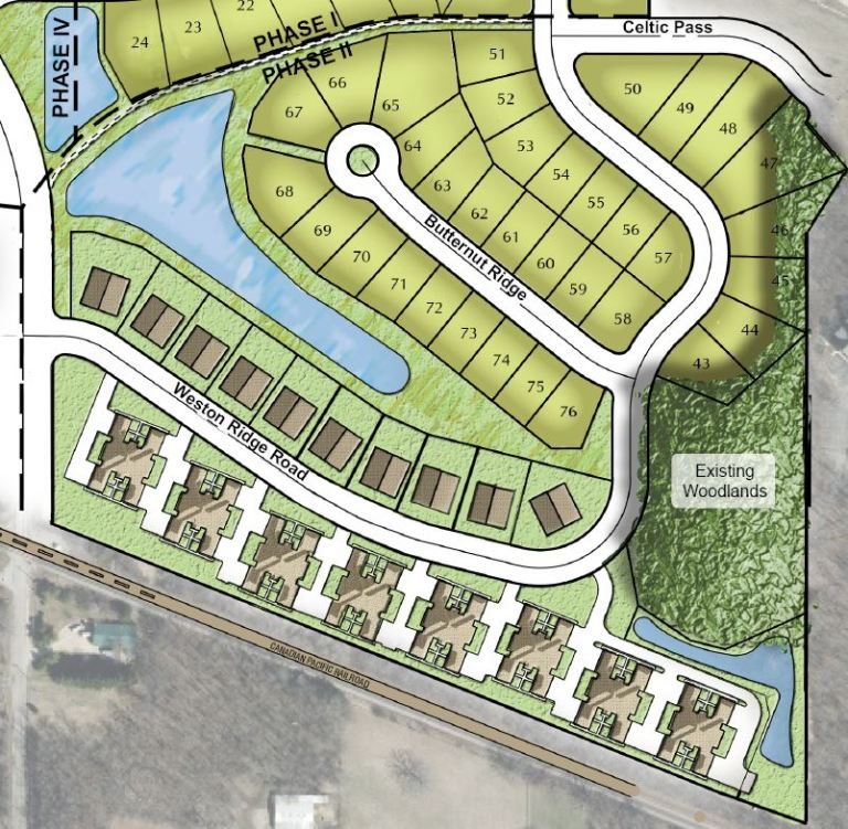 Conceptual Map - Weston Meadows Phase II