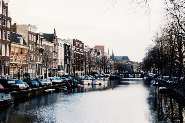 Going for a walk along the canal -