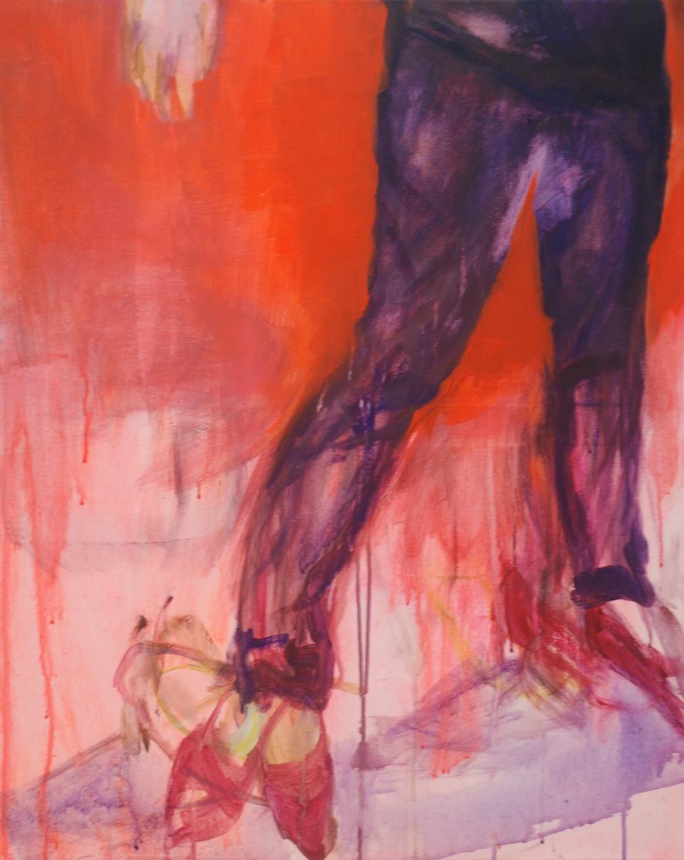 Elina Aho Raajat Limbs 2011 akryyli kankaalle 81 x 65 cm.jpg