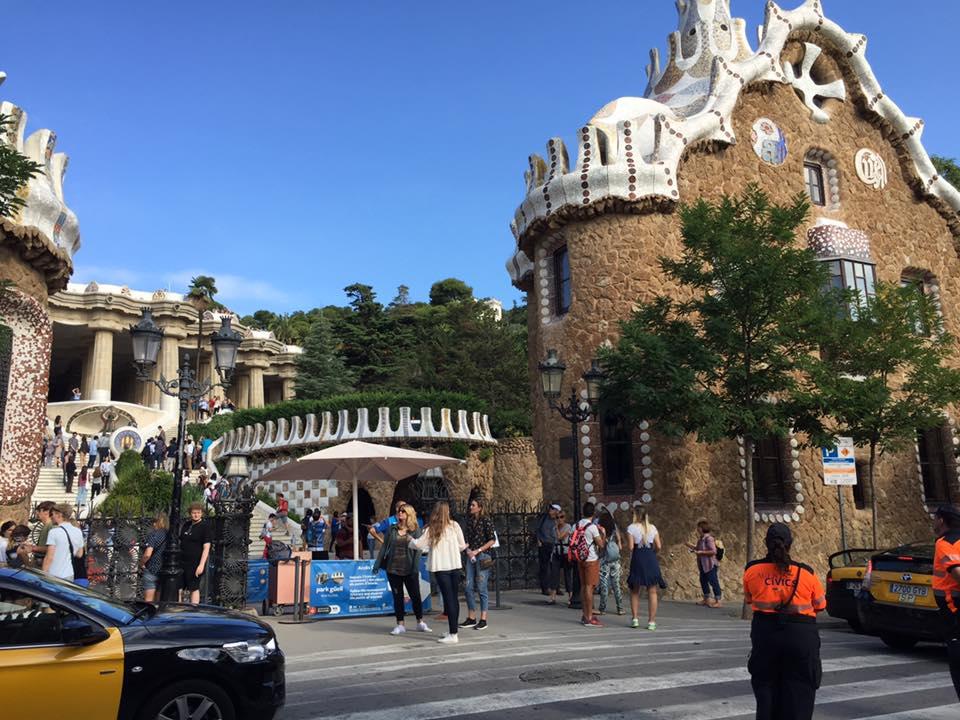 Park Güell Entrance