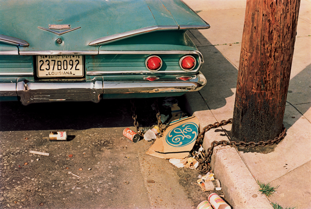 "William Eggelston, ""Louisiana"" (from the series Los Alamos, 1965–1974) © Eggleston Artistic Trus"