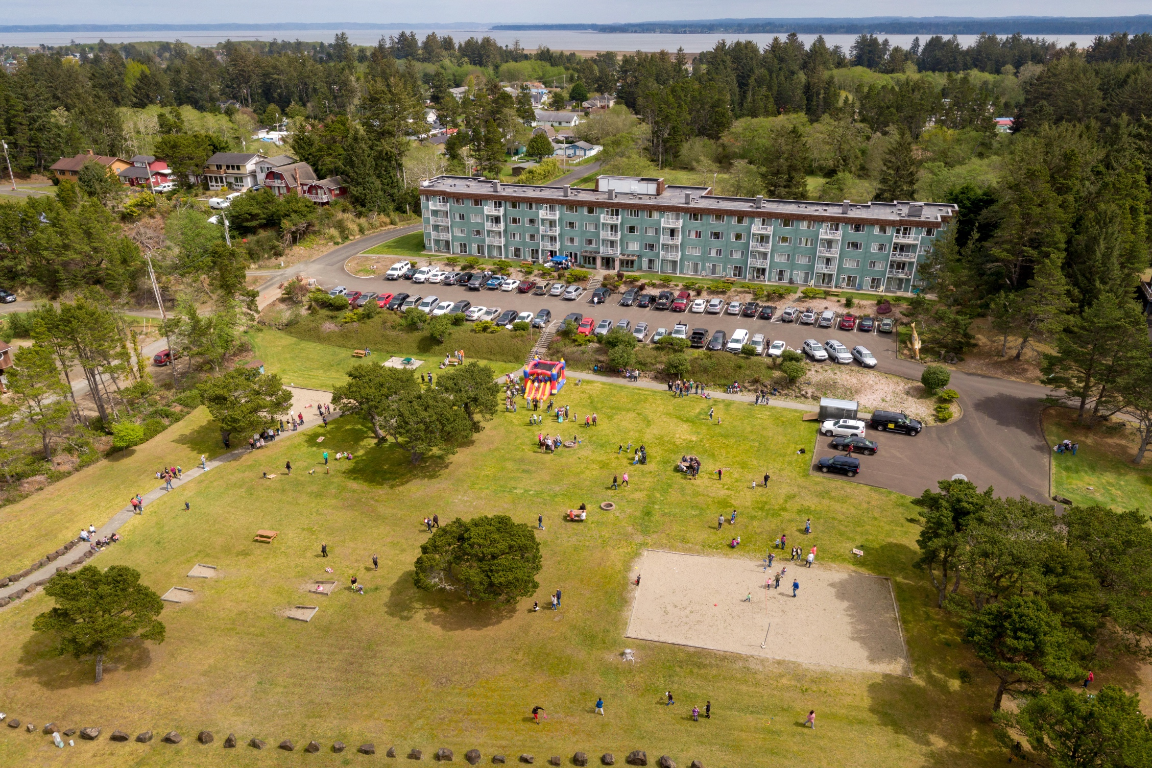 Outdoor Garden - 27 acres of oceanfront property to have your special event!