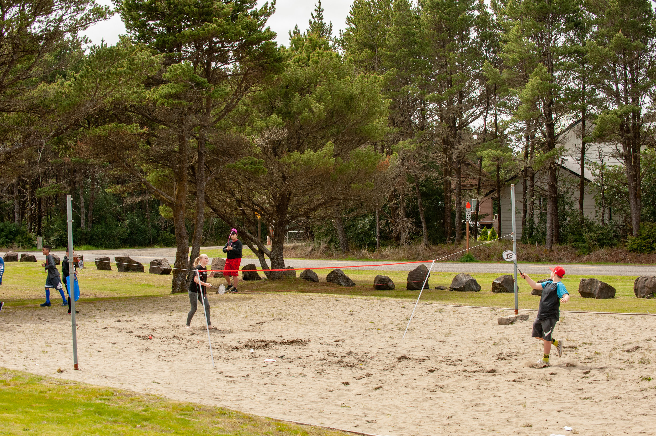 Volley Ball Court -