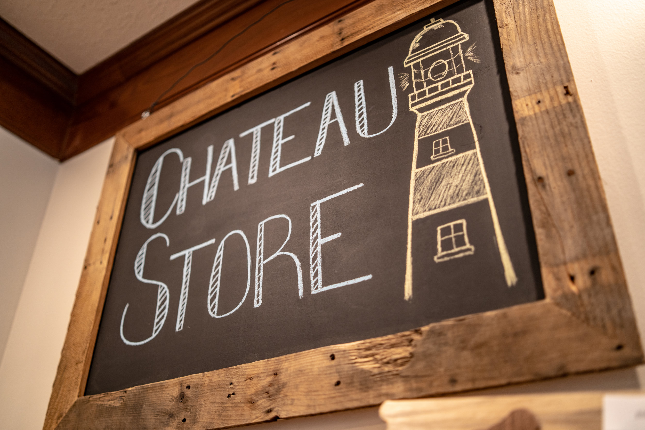 Chateau Store - Handcrafted local souvenirs located in our lobby. Ou online Store coming soon!